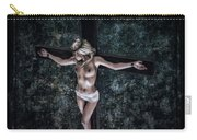 Painting Female Crucifix I Carry-all Pouch