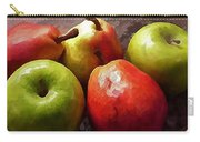 Painting Of Apples And Pears Carry-all Pouch