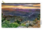 Painting Of Desert View Grand Canyon Carry-all Pouch