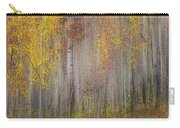 Painting Of Trees In A Forest In Autumn Carry-all Pouch
