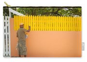 Painting The Fence Carry-all Pouch