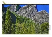 Painting Three Brothers Peaks Yosemite Np Carry-all Pouch