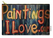 Paintings I Love .com Carry-all Pouch