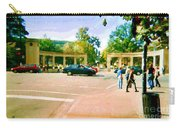 Paintings Of Roddick Gates Entrance Mcgill Campus  From Sherbrooke Towards The Mountain Cspandau Art Carry-all Pouch
