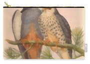 Pair Amur Falcons Carry-all Pouch