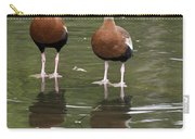 Pair Black-bellied Whistling-ducks Carry-all Pouch