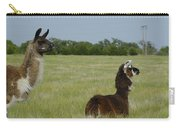 Pair Of Alpacas Carry-all Pouch