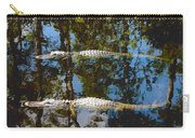 Pair Of American Alligators Carry-all Pouch