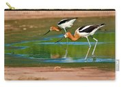Pair Of American Avocets Carry-all Pouch