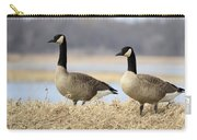 Pair Of Canadians Carry-all Pouch