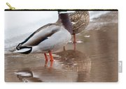 Pair Of Ducks Carry-all Pouch