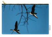 Pair Of Geese Carry-all Pouch