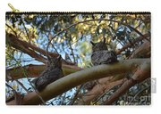 Pair Of Great Horned Owls Carry-all Pouch