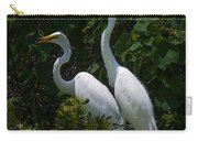 Pair Of Herons Carry-all Pouch