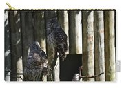 Pair Of Owls Carry-all Pouch