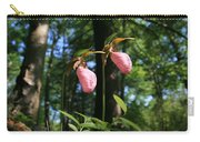 Pair Of Pink Lady Slippers  Carry-all Pouch