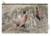 Pair Of Roosters Carry-all Pouch