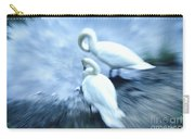Pair Of Swans Carry-all Pouch