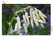 Pair Of White Bluebells Carry-all Pouch