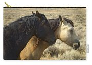 Pair Of Wild Mares   #0469 Carry-all Pouch