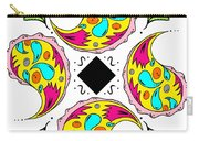 Paisley Flower Abstract Viii Carry-all Pouch