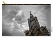 Palace Of Culture And Science In Warsaw Carry-all Pouch