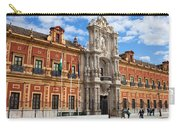 Palace Of San Telmo In Seville Carry-all Pouch