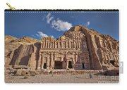 Palace Tomb In Nabataean Ancient Town Petra Carry-all Pouch