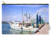 Palacios Texas Shrimp Boat Lineup Carry-all Pouch