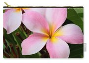 Palacious Pink Plumeria Carry-all Pouch