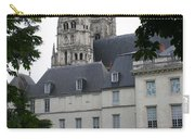 Palais In Tours With Cathedral Steeple Carry-all Pouch