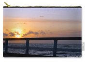 Palanga Sea Bridge At Sunset. Lithuania Carry-all Pouch