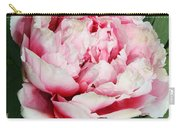 Pale And Dark Pink Peony Carry-all Pouch