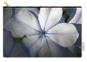 Pale Blue Plumbago Flower Close Up  Carry-all Pouch