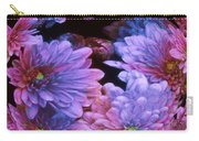 Pale Moon Flower Orb Carry-all Pouch