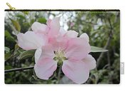 Pale Pink Crabapple Blossom Carry-all Pouch