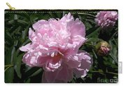 Pale Pink Peony Watercolor Effect Carry-all Pouch