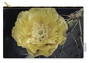 Pale Yellow Prickly Pear Bloom  Carry-all Pouch
