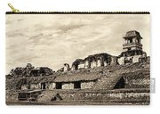 Palenque Panorama Sepia Carry-all Pouch