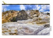Palette Spring Terrace Panorama - Yellowstone National Park Wyoming Carry-all Pouch