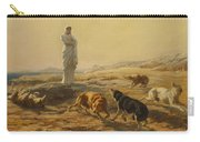 Pallas Athena And The Herdsmans Dogs Carry-all Pouch