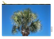Palm Against Blue Sky Carry-all Pouch