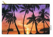 Palm Beach Sundown Carry-all Pouch