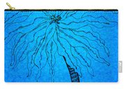 Palm Blue Carry-all Pouch