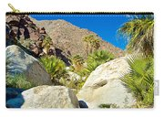 Palm Oasis On Borrego Palm Canyon Trail In Anza-borrego Desert Sp-ca Carry-all Pouch