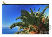 Palm Over The Sea Carry-all Pouch
