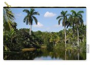 Palm Reflection And Shadow Carry-all Pouch