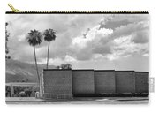 Palm Springs City Hall Bw Palm Springs Carry-all Pouch