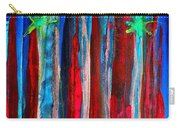 Palm Springs Nocturne Original Painting Carry-all Pouch