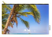 Palm Tree And Caribbean Carry-all Pouch